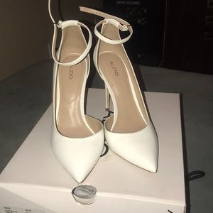 ALDO US  - Staycey -70 White Stiletto Heels